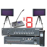 Конференц-система в сборе Simultaneous Translation Wireless 8ch 20KIT